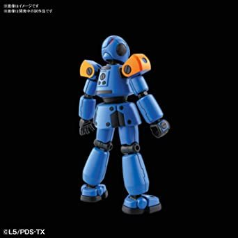 LBX ダンボール戦機 AX-00 1/1スケール 色分け済みプラモデル_画像4