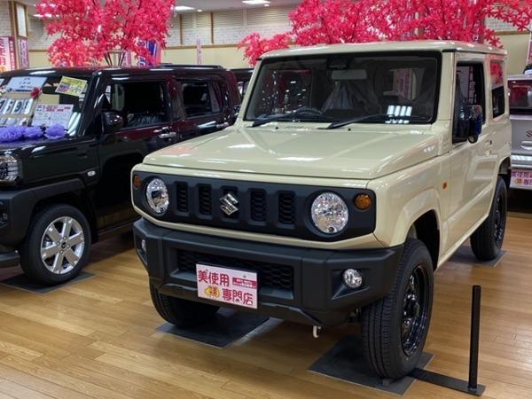 「ジムニー 660 XL スズキ セーフティ サポート 装着車 4WD 届出済未使用車 キーレス プッシュ」の画像1