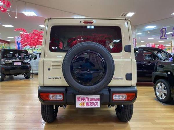 「ジムニー 660 XL スズキ セーフティ サポート 装着車 4WD 届出済未使用車 キーレス プッシュ」の画像3