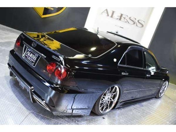 「クラウンアスリート 3.5 Gパッケージ 黒革 SR AIMGAINエアロ 車高調 WORK19」の画像3