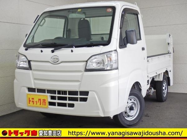 「ハイゼットトラック 平ボディー 垂直式テールリフト 4WD ETC 保証書 350kg AT」の画像1