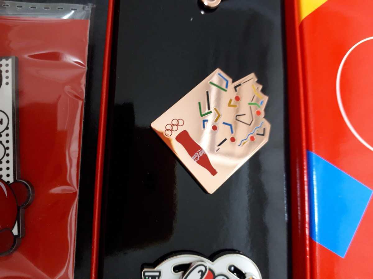 東京オリンピック ピンバッチ ピンバッジ 2020 コカ・コーラ SK-2 卓球 未使用 ピンズ