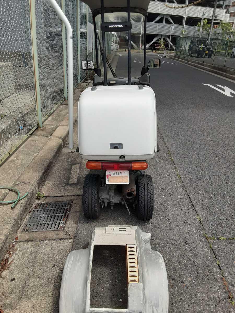 「愛知県ジャイロキャノピーTA02ジャンク不動車」の画像3