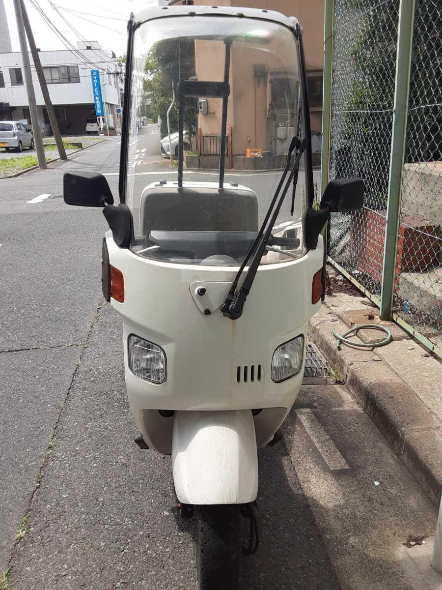 「愛知県ジャイロキャノピーTA02ジャンク不動車」の画像2