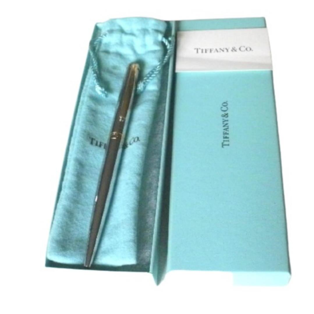 ★TIFFANY&Co. ティファニー ボールペン 書けます(インク残量不明です)外箱 袋付