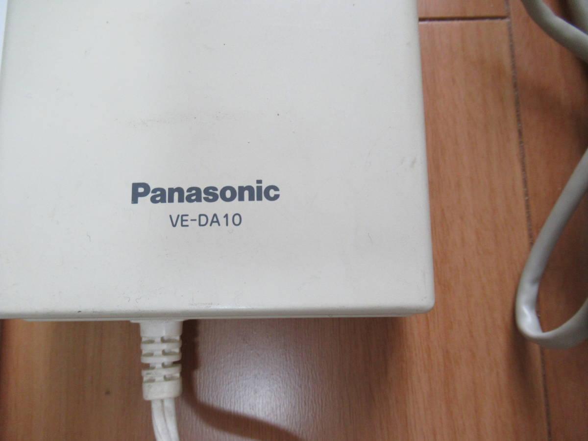 パナソニックPanasonic ドアホンアダプター VE-DA10 取扱説明書有り(プリントしたもの)6芯の電話機コード有り_画像3