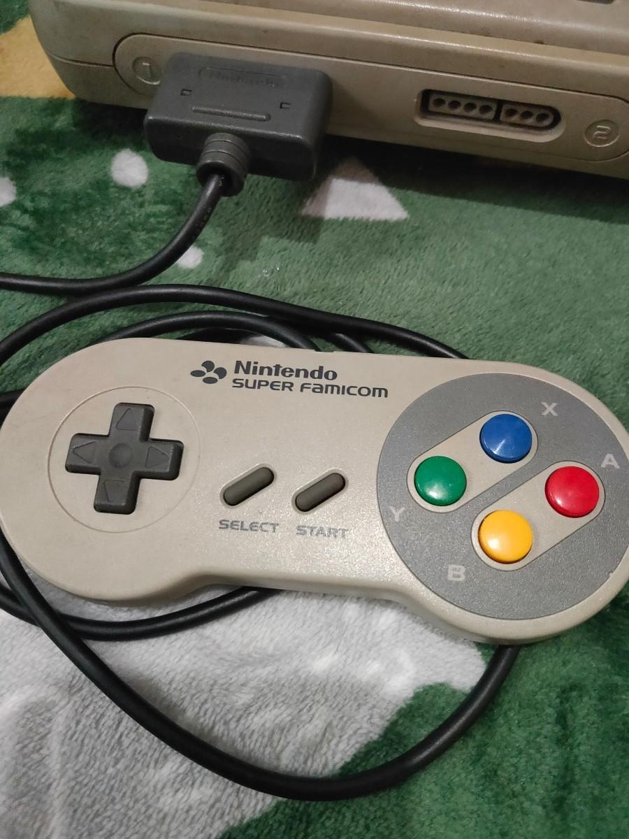 スーパーファミコン 麻雀倶楽部カセット付き スーパーファミコン SFC AVケーブル コントローラー