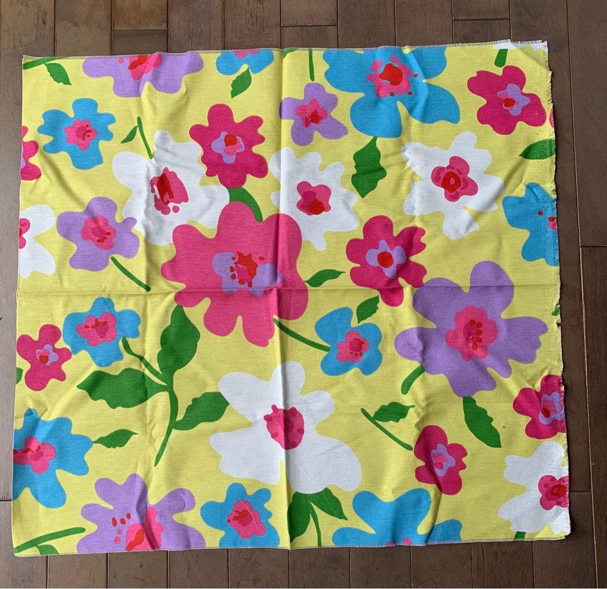 生地 布地 花柄 コットン 綿 3枚組 ハギレ プリント フラワー