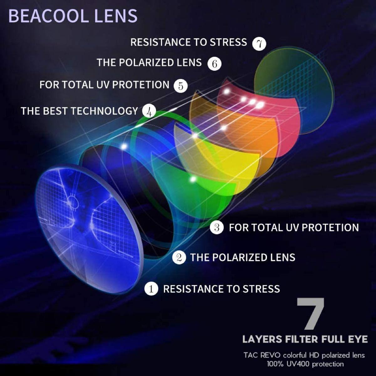 スポーツサングラス 偏光レンズ 超軽量 UV400 TAC TR90 紫外線防止 安全 清晰