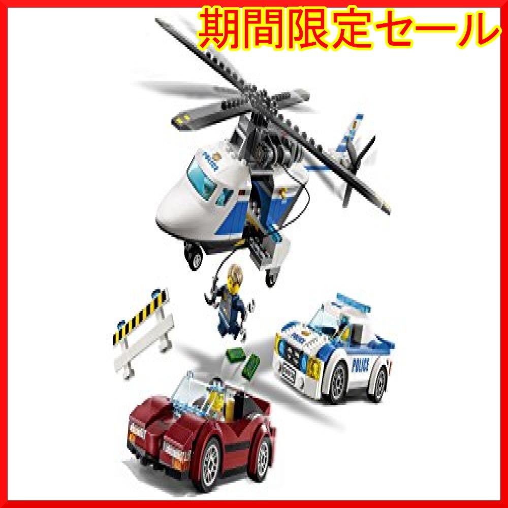 レゴ (LEGO) シティ ポリスヘリコプターとポリスカー 60138 ブロック おもちゃ 男の子 車_画像4