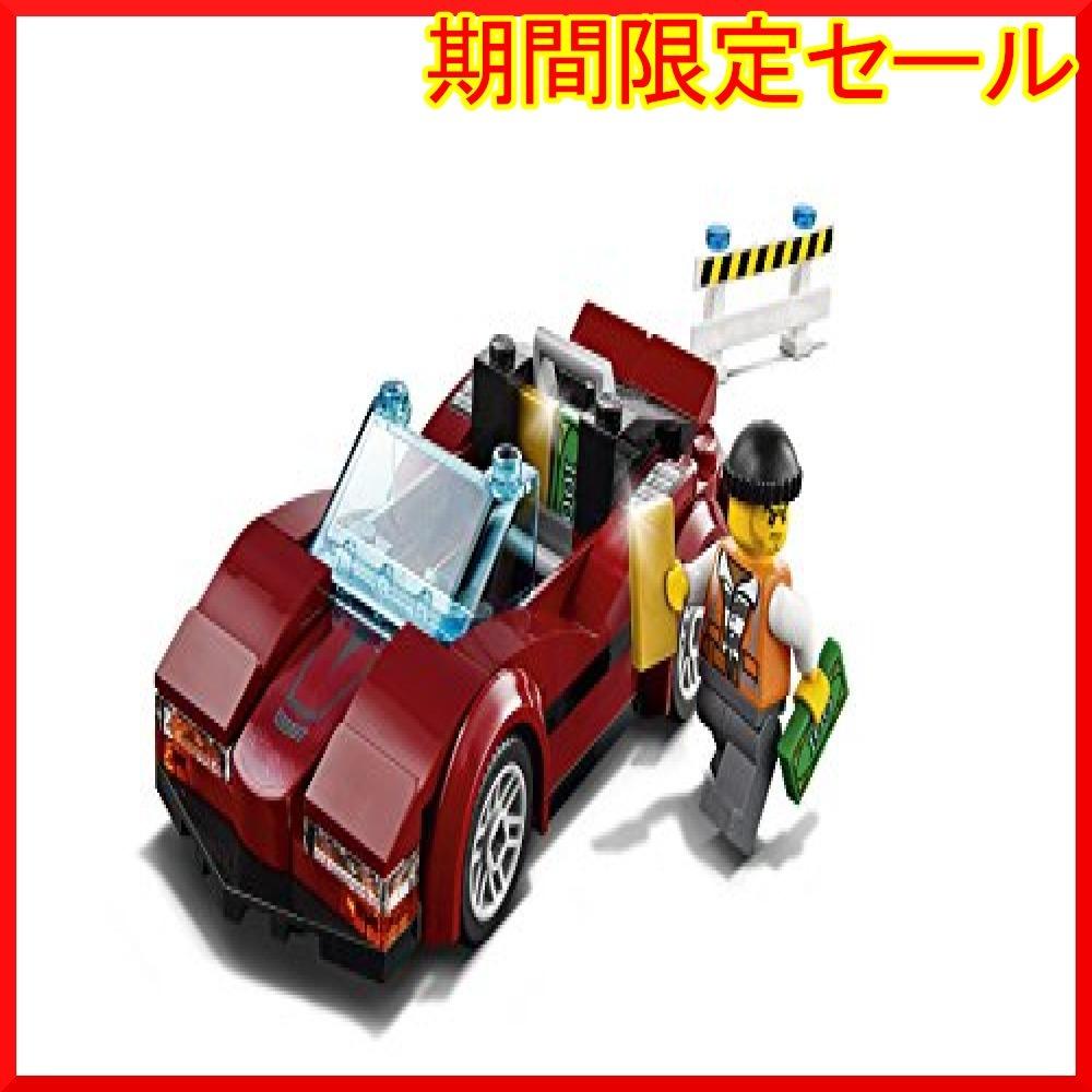 レゴ (LEGO) シティ ポリスヘリコプターとポリスカー 60138 ブロック おもちゃ 男の子 車_画像6