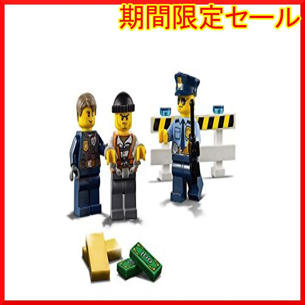 レゴ (LEGO) シティ ポリスヘリコプターとポリスカー 60138 ブロック おもちゃ 男の子 車_画像10