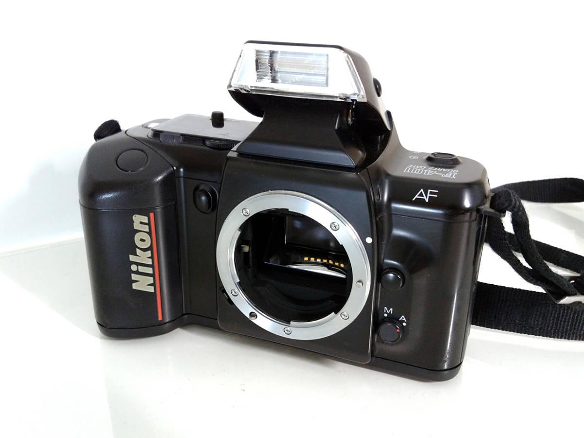 NIKON F-401 Autofocus SLR Film Camera / ニコン AF フィルムカメラ 一眼レフ_画像1