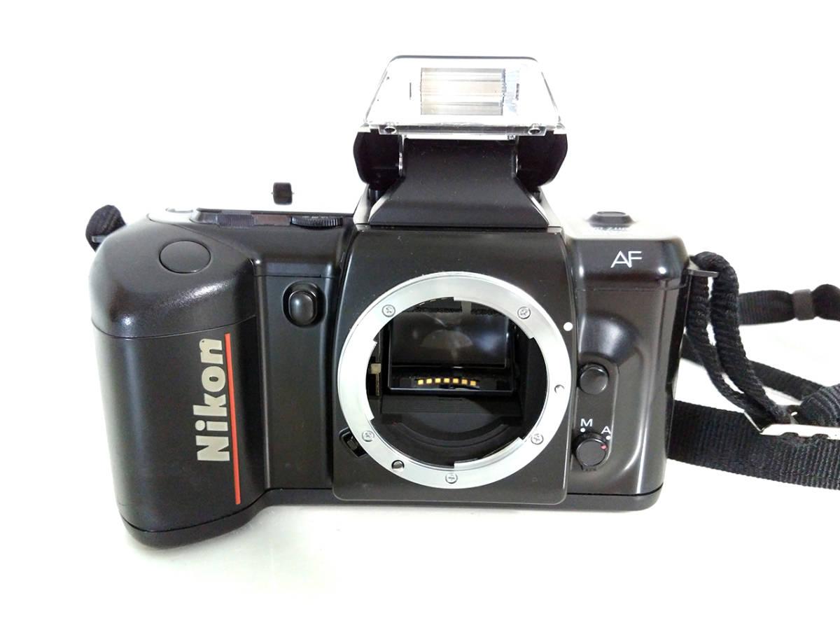 NIKON F-401 Autofocus SLR Film Camera / ニコン AF フィルムカメラ 一眼レフ_画像2