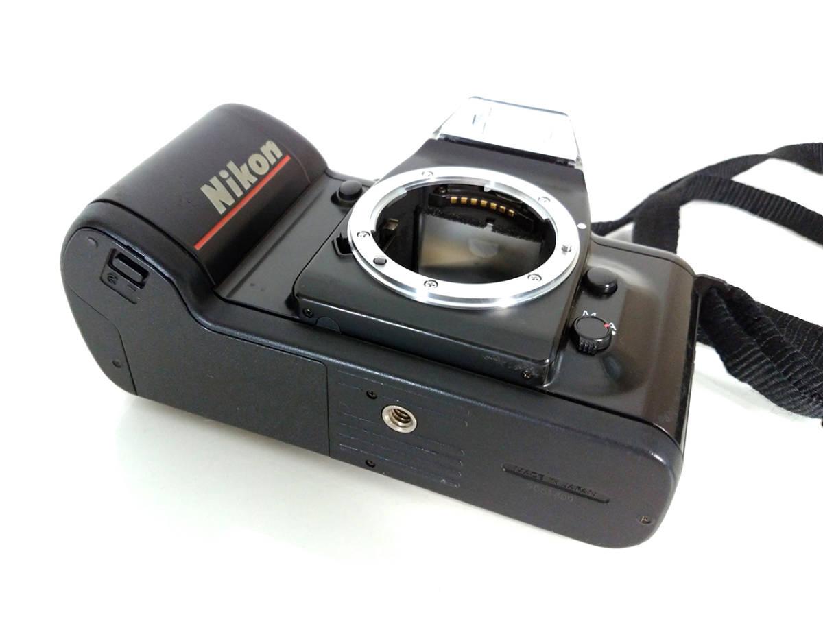 NIKON F-401 Autofocus SLR Film Camera / ニコン AF フィルムカメラ 一眼レフ_画像6