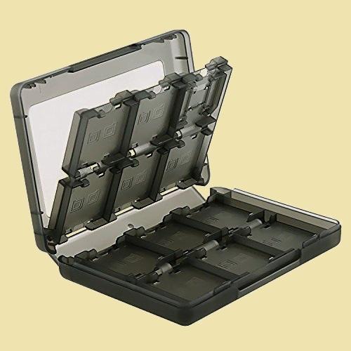 未使用 新品 ニンテンド- D-L6 タッチペン付き ブラック XLビデオゲ-ムカ-ドケ-ス メモリカ-ド収納ケ-ス ボックス_画像1