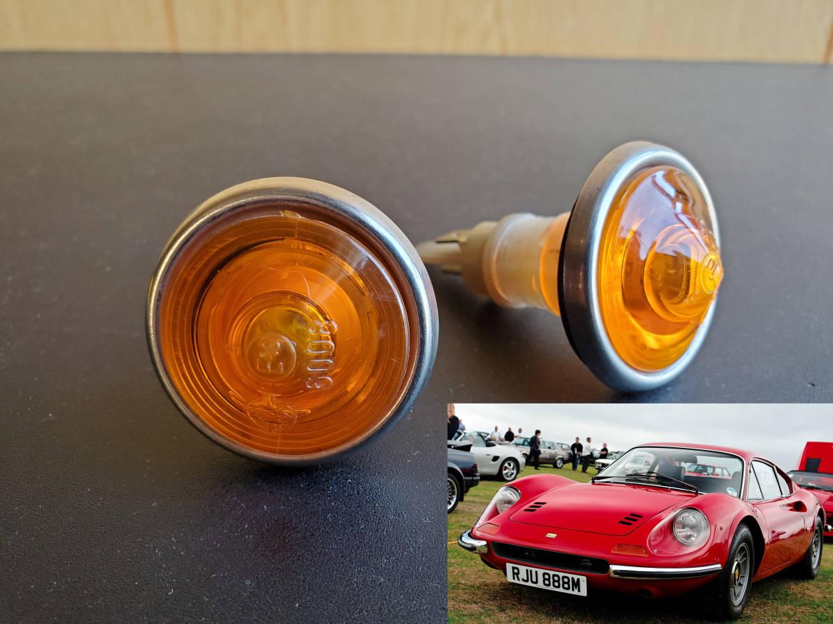★新品レア★ Ferrari Dino 206 246 gt gtb gts ウインカー フェラーリ 308 328 348 288gto 355 Fiat フィアット カウル アグスタ DUCATI _画像1