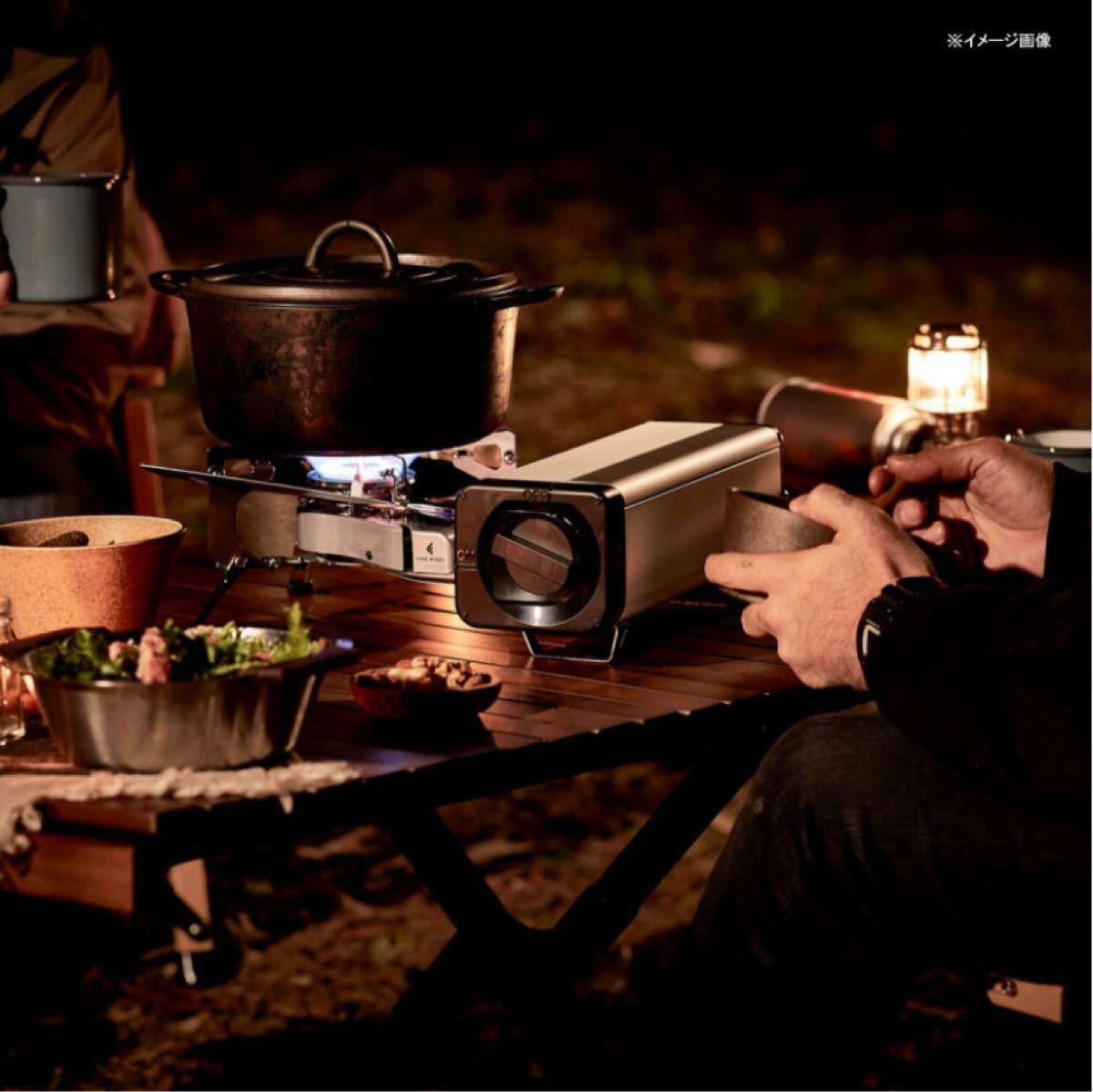 カセットコンロ フォールディング キャンプストーブ シルバー FWFS01SL FOREWINDS FOLDING CAMP