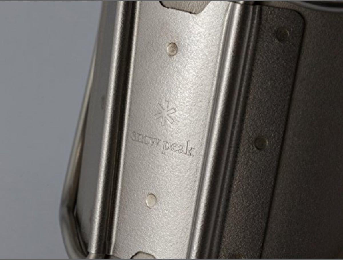 スノーピーク チタン シングルマグ 450ml MG-143 マグカップ 新品