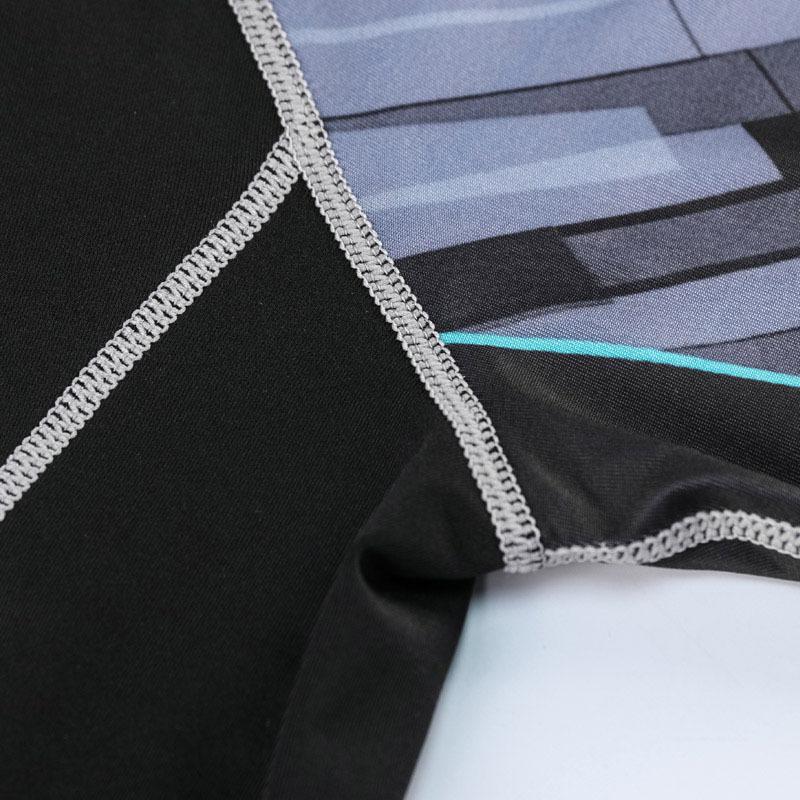 コンプレッションウエア No,9 Mサイズ メンズ 加圧インナー アンダーシャツ トレーニングウエア スポーツウエア 長袖 吸汗 速乾 p18