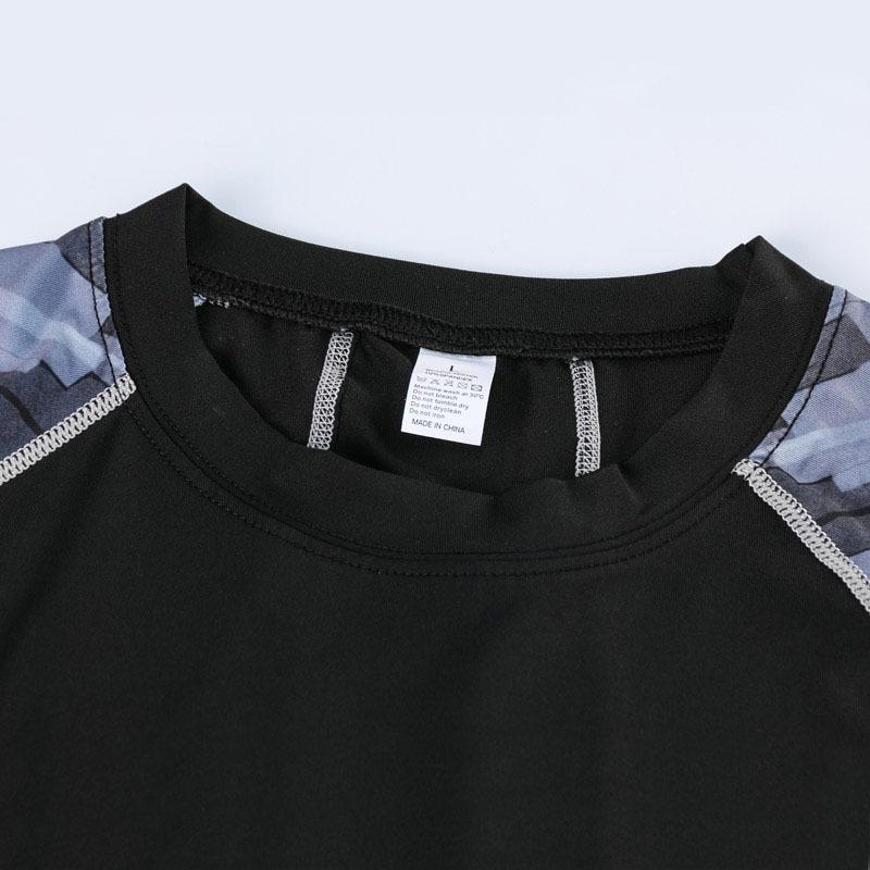 コンプレッションウエア No,3 Lサイズ メンズ 加圧インナー アンダーシャツ トレーニングウエア スポーツウエア 長袖 吸汗 速乾 p12