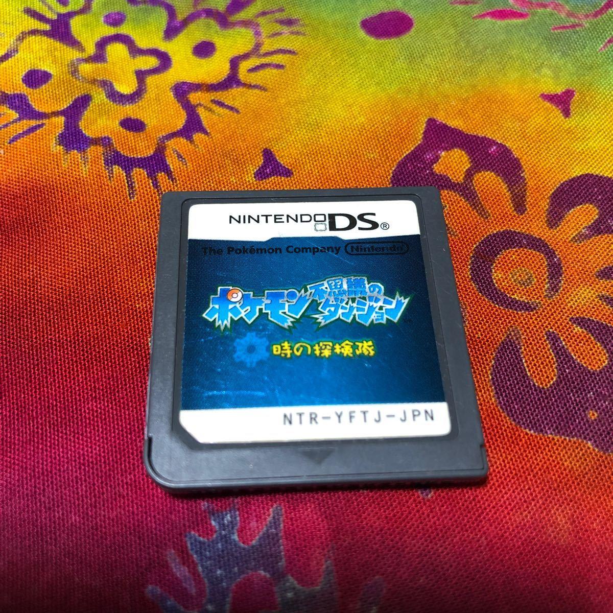 ポケモン 不思議のダンジョン 時の探検隊 ソフト DSソフトのみ 箱なし