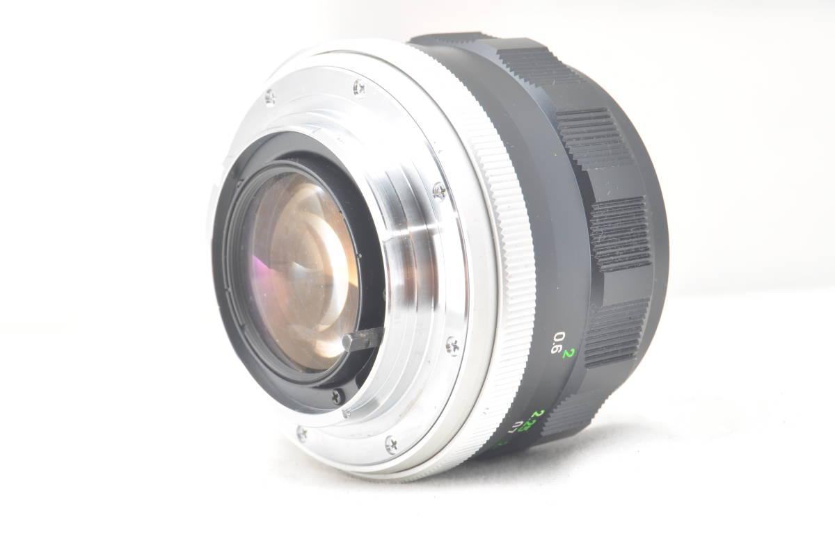 ★極上外観★MINOLTA MC ROKKOR-PF 58mm F1.4#3318_画像3