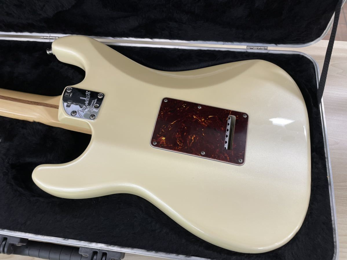 Fender USA American Deluxe Stratocaster N3 Olympic Pearl_画像7