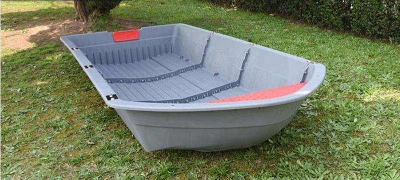 「★新品未使用★船外機可 2分割ボート 2.2メートル フィッシングボート 車載 釣り 未使用 ゴムボート TT853」の画像1