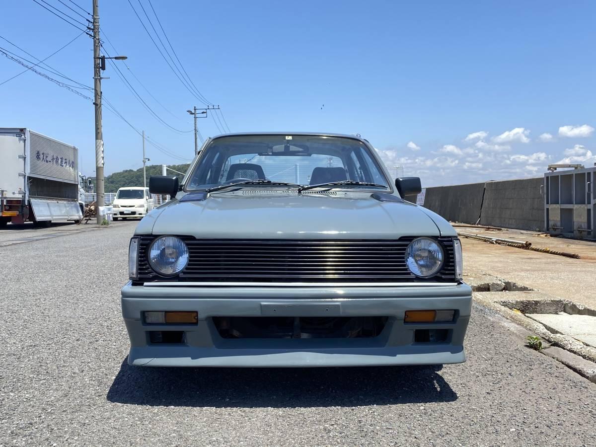 「いすゞ ジェミニ PF60 1800cc ZZR セダン 昭和56年 DOHC 社外マフラー 丸目 ISUZU GEMINI」の画像2