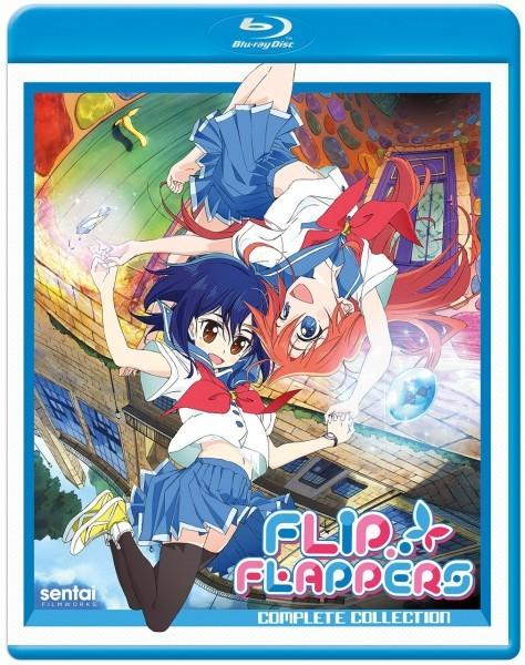 【送料込】フリップフラッパーズ 全13話 (北米版 ブルーレイ) Flip Flappers blu-ray BD