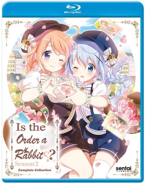 【送料込】ご注文はうさぎですか ?? 第2期 全12話 (北米版 ブルーレイ) Is the Order a Rabbit?: Season 2 blu-ray BD