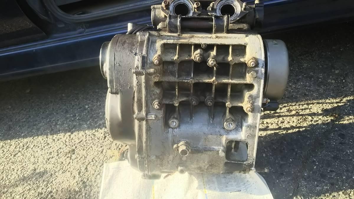 「 岡山発 RZ250R 実動エンジン 51Lヘッドシリンダー ジェネレーター有 フライホイール有 オイルポンプ有 ワイヤー類 29L   1XG 3HM  」の画像3