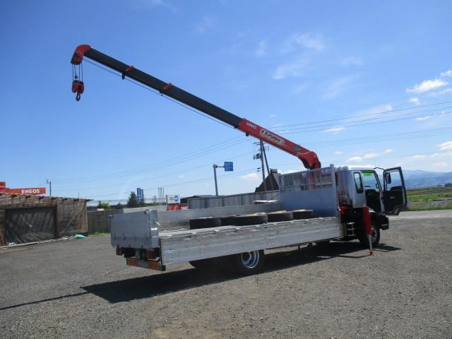イスズ フォワード 4段クレーン アルミブロック 4WD ラジコン付・フックイン 増トン車(大型免許)_画像5