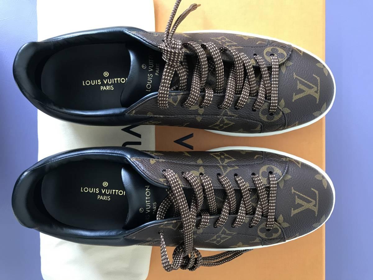 ルイ・ヴィトン LOUIS VUITTON ルクセンブルグ・ライン スニーカー 靴 LVサイズ6.0 新品 未使用_画像2