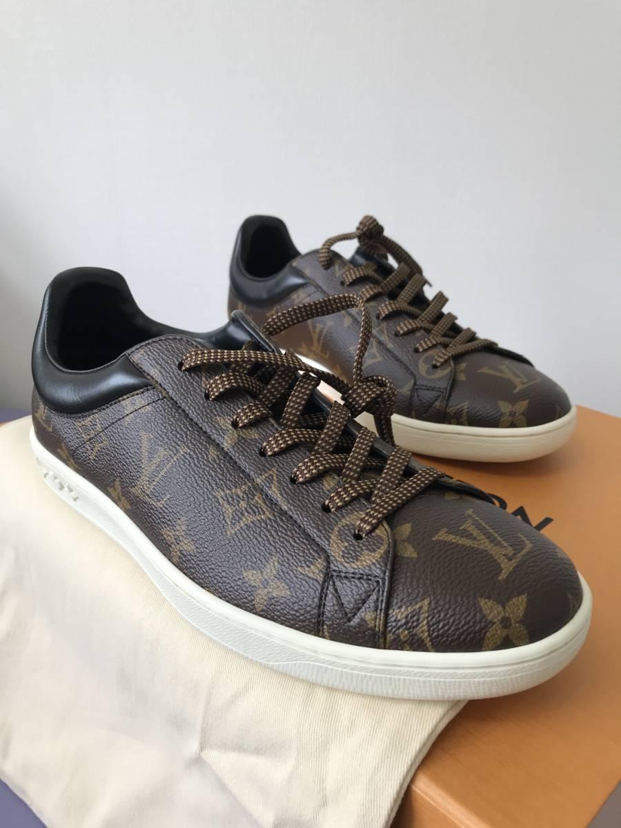 ルイ・ヴィトン LOUIS VUITTON ルクセンブルグ・ライン スニーカー 靴 LVサイズ6.0 新品 未使用_画像4
