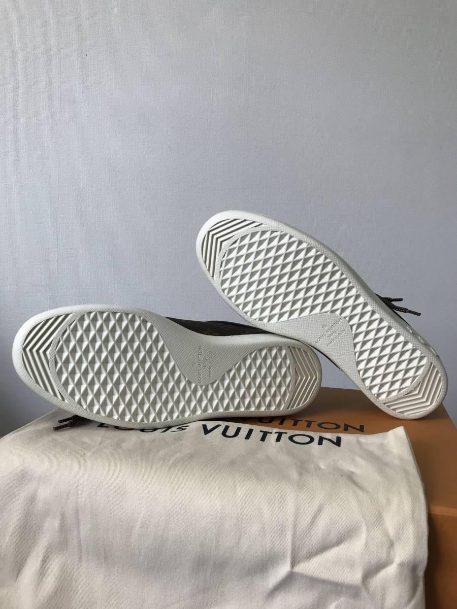 ルイ・ヴィトン LOUIS VUITTON ルクセンブルグ・ライン スニーカー 靴 LVサイズ6.0 新品 未使用_画像6