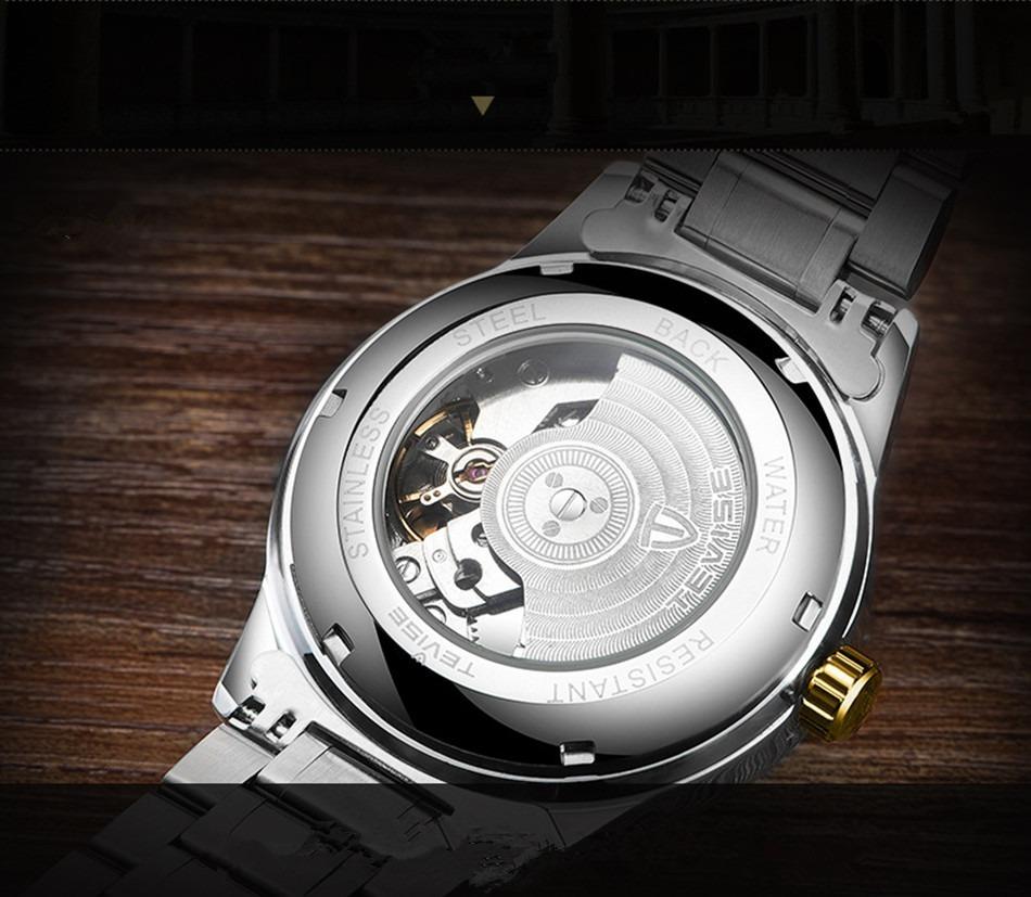 【激安価格】メンズ腕時計 40mm 機械式 自動巻 カレンダー 海外人気 夜光 防水 男性 ウォッチ 紳士 通勤 ファション ブルー_画像6