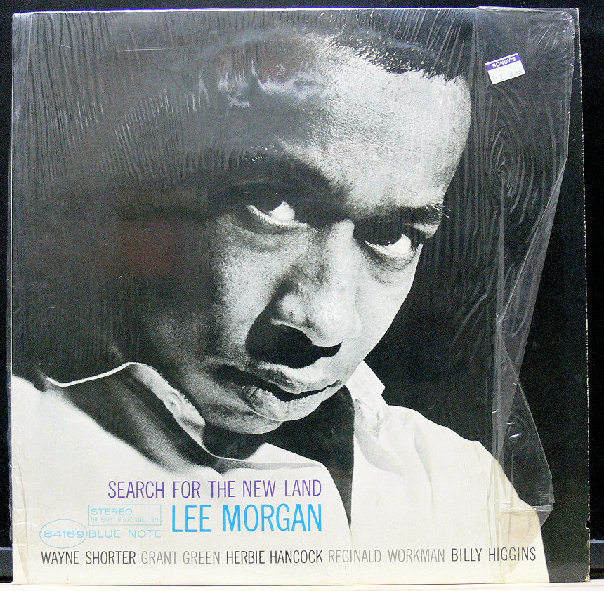 ■【US盤 シュリンク付】Lee Morgan / Search for the New Land Blue Note United Artists VAN GELDER刻印あり _画像1