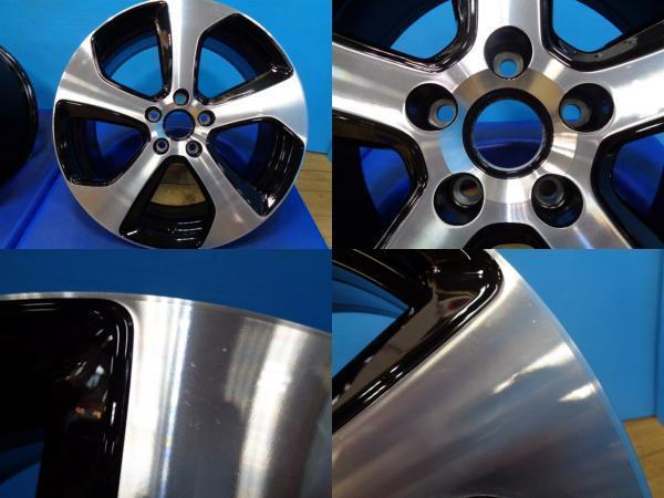 お買い得 在庫処分 DDCパッケージ VW ゴルフ7 GTI純正 18-7.5J +49 5H/112 ゴルフ5 ゴルフ6 ゴルフトゥーラン ゴルフヴァリアント GOLF_画像4