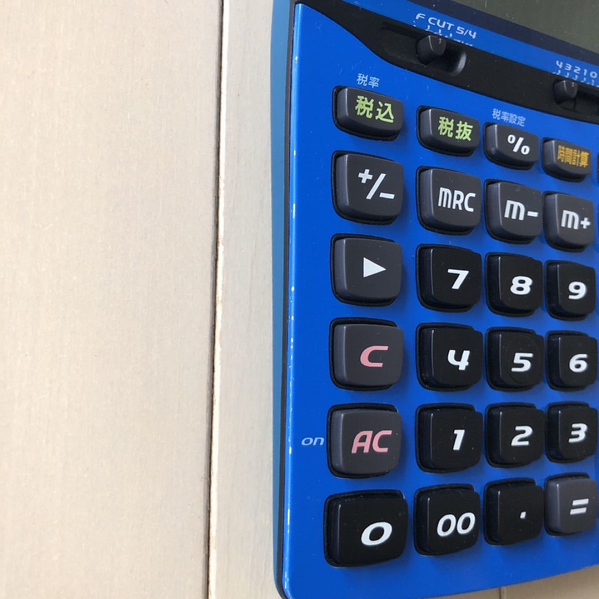 CASIO 電卓 カシオ JF-A200  クールブルー