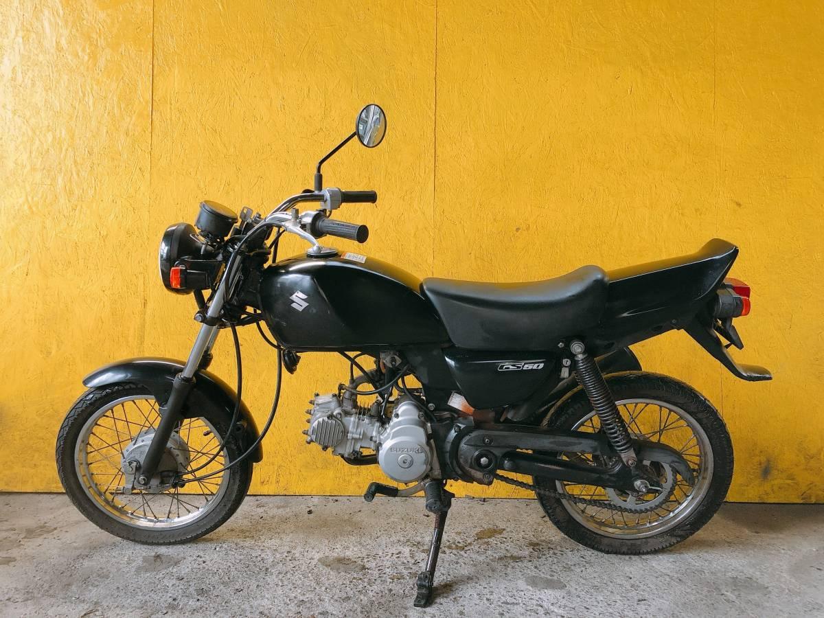 「SUZUKI GS50 NA41A 4サイクル エンジン良好 熊本から」の画像2