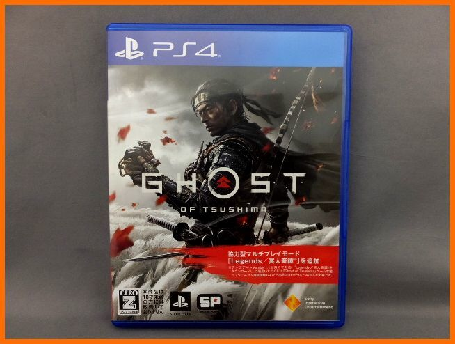 【USED/1円~】 PS4 ソフト GHOST OF TSUSHIMA 送料300円 18歳以上_画像1