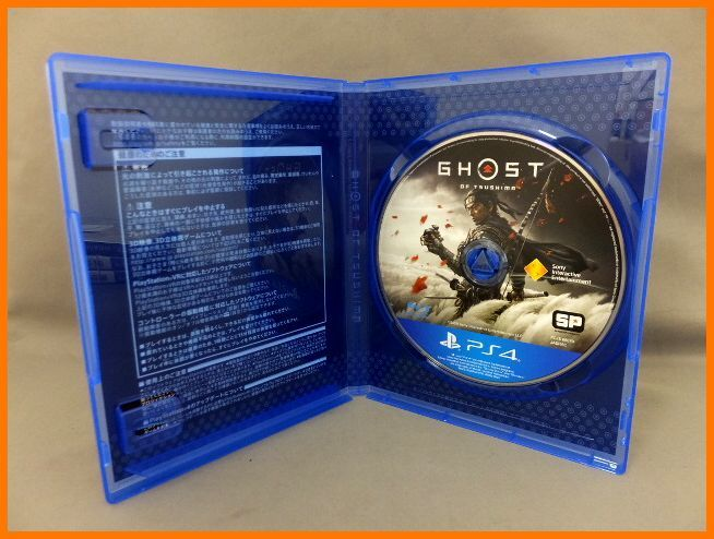 【USED/1円~】 PS4 ソフト GHOST OF TSUSHIMA 送料300円 18歳以上_画像4
