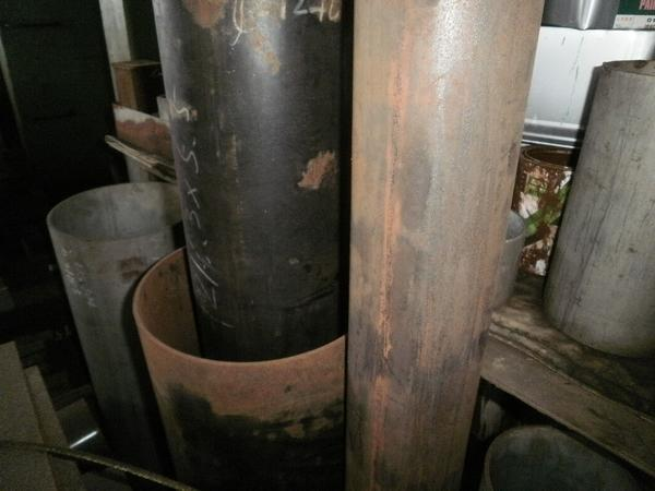 鉄 丸パイプ STK構造用鋼菅材 希望 寸法 切り売り 小口 販売加工 F20_画像3