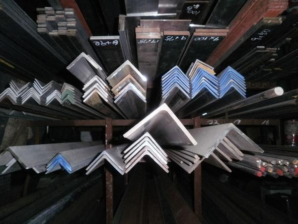 鉄 等辺アングルL形材(材質SS400)黒皮材 寸法 切り売り 小口 販売加工 F40_画像3