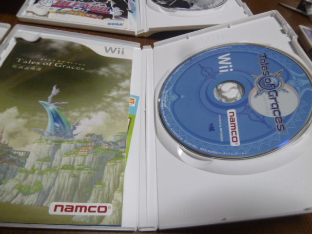 S20【即日配送 送料無料 動作確認済】 Wiiソフト テイルズオブグレイセス 結界師 家庭教師ヒットマン ブリーチ