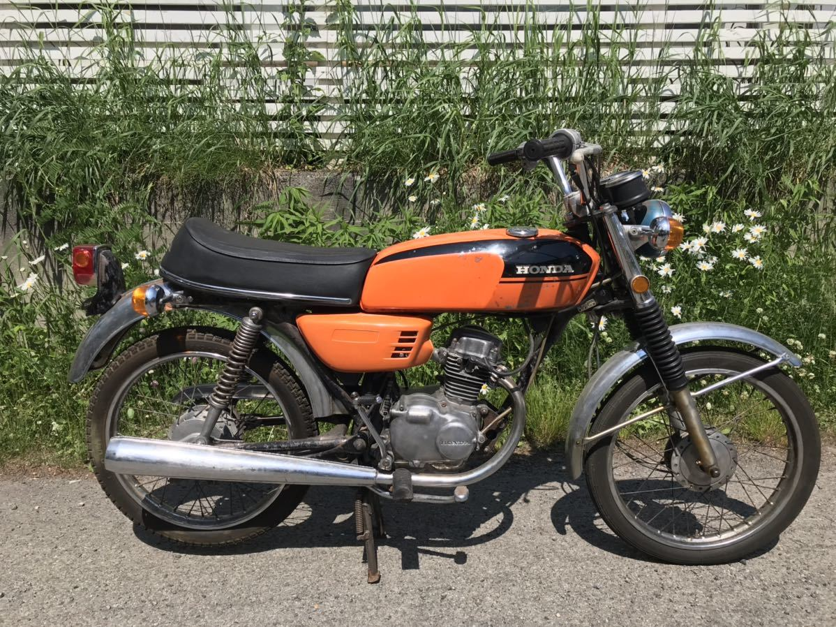 「貴重 HONDA cb50 ホンダ 車体 バイク」の画像1