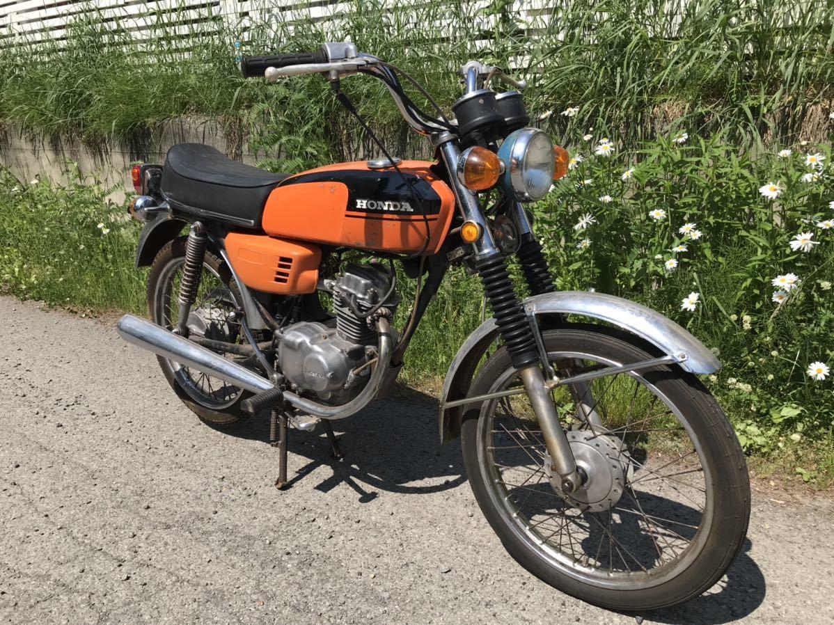 「貴重 HONDA cb50 ホンダ 車体 バイク」の画像2