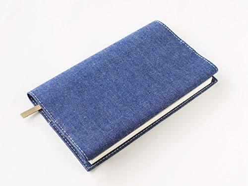 スリップオン(SLIP-ON) ブルー 新書判ブックカバー 20カラーデニム 布製 日本製 SLD-1001 スリップオン_画像4